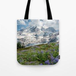 Scenic Landscape Art, Mt. Rainier, Mt. Rainier National Park, Paradise Tote Bag