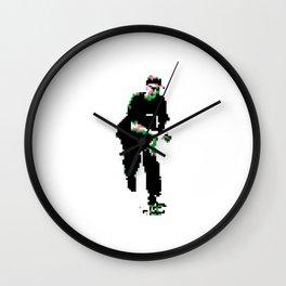Pixel Skater Wall Clock