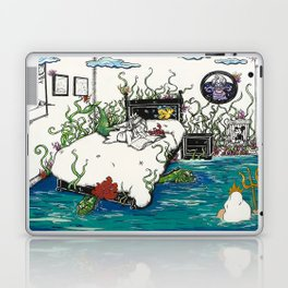 Books Coming to Life: The Little Mermaid Laptop & iPad Skin