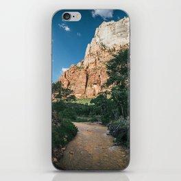 Virgin River in Zion iPhone Skin