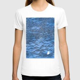 Man & Nature - The Dangerous Sea T-shirt