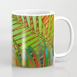 TROPICAL LEAVES POP-ART no5 Coffee Mug