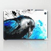 raven iPad Cases featuring raven by Katja Main