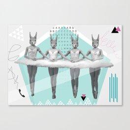 sqirrelsea dance Canvas Print