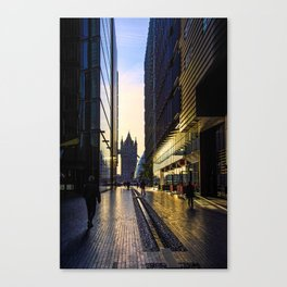 Sunrise on the South Bank Canvas Print