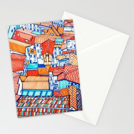 Bologna from above Stationery Cards