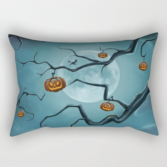 Halloween Tree Rectangular Pillow