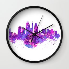 Cincinnati Skyline Wall Clock