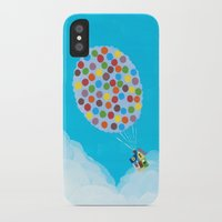 pixar iPhone & iPod Cases featuring Up - Disney/Pixar by Justine Shih