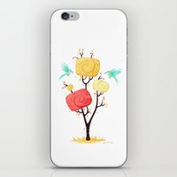 autumn iPhone & iPod Skins featuring Autumn by Freeminds