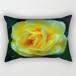 Early Morning Rose (Rosaceae) Rectangular Pillow