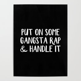 Gangsta Rap Poster