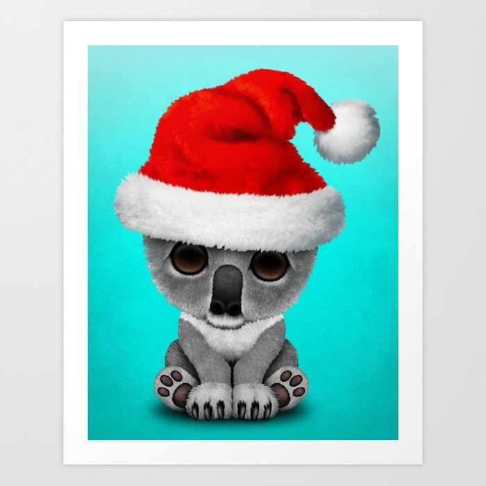 Christmas Koala Cushion Cover Decorations Santa *FREE WORLDWIDE SHIPPING*