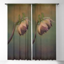 Once Upon a time a lonely flower Blackout Curtain