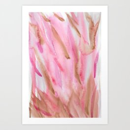 Color in Mud Art Print