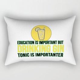 Gin Tonic funny saying gift idea Rectangular Pillow