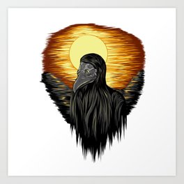 Dawn of Death Art Print