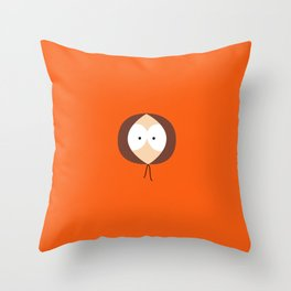 Where is Kenny? Throw Pillow