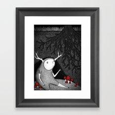 The Animal I am Framed Art Print