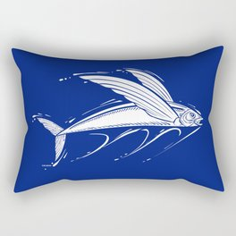 Flying Fish 1 Rectangular Pillow