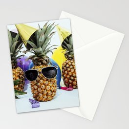 Pineapple Party Time Stationery Cards