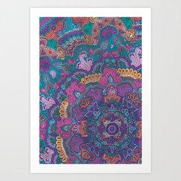 Beautiful Morning (bright) Art Print