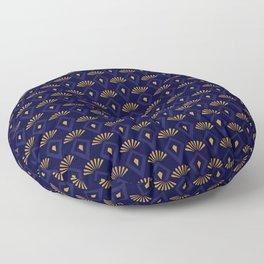 Dashing Peacock Floor Pillow