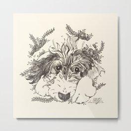 Tillie1 Metal Print