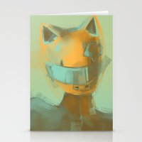 durarara Stationery Cards featuring Celty by emametlo