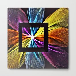 Quantum abstract Metal Print