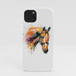 Colorful Horse Head iPhone Case