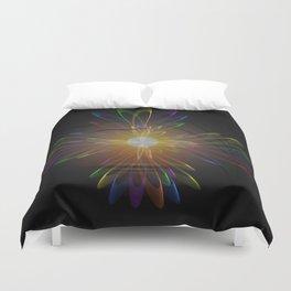 Light and energy - sunset Duvet Cover