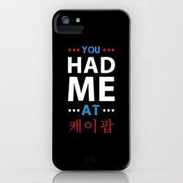 K-Pop Fan Funny iPhone Case
