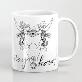 STAY HORNY Coffee Mug
