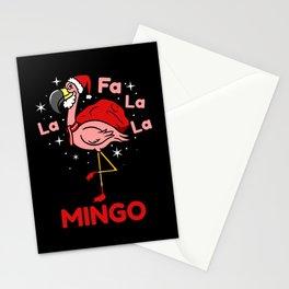 Fa La La La Mingo Christmas Gift Stationery Cards