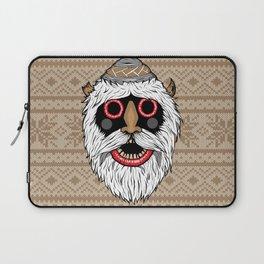 Bucovina mask / Masca de Bucovina Laptop Sleeve