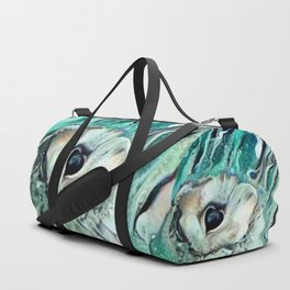 I Beseech You Goddess of the Hunt Duffle Bag
