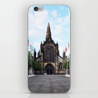 medieval iPhone & iPod Skins featuring medieval glasgow by seb mcnulty