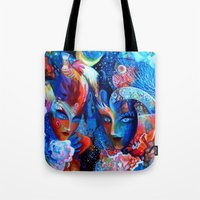 venice Tote Bags featuring Venice by oxana zaika