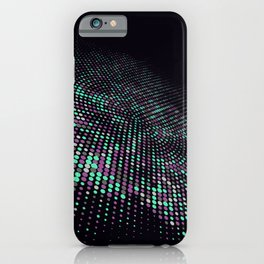 Space Dots iPhone Case