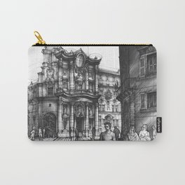 Baroque Church of San Carlo alle Quattro di Fontane in Rome Carry-All Pouch