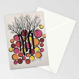 Winter Trees 2 Stationery Cards