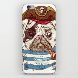 Pirate Dog iPhone Skin