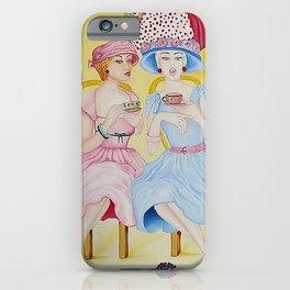 1950 High Tea iPhone Case