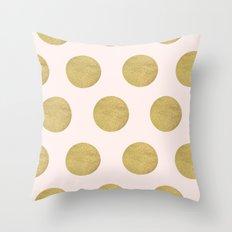 Stay Golden Throw Pillow