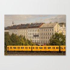 STREETART :: BERLIN :: GERMANY by Jay Hops Canvas Print