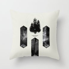 PILLARS OF CREATION Throw Pillow