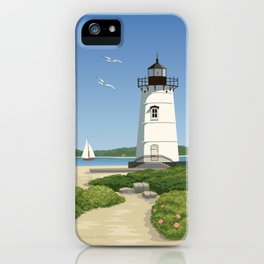Martha's Vineyard Edgartown Lighthouse iPhone Case