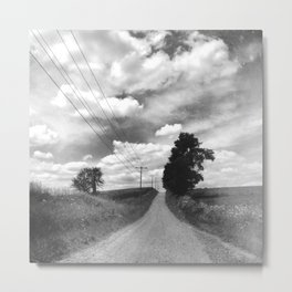Back Road Adventure Metal Print
