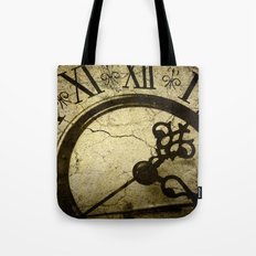A Crack in Time Tote Bag